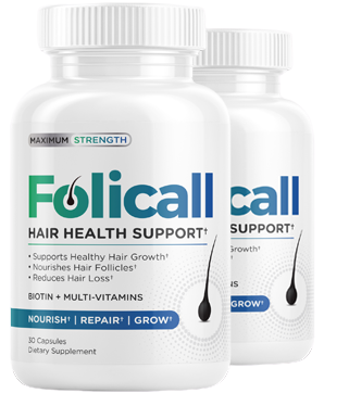 Folicall Hair Health Support Pills
